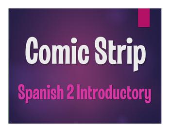 Avancemos 2 Lección Preliminar Comic Strip