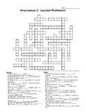 Avancemos 2, Lección Preliminar Crossword Puzzle
