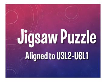 Avancemos 2 Semester 2 Jigsaw Puzzle