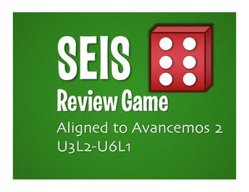 Avancemos 2 Semester 2 Review Seis Game