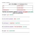 Avancemos 2 U2 L1 -ER -IR Preterite Practice - Sentences in Preterite Tense