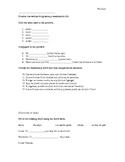 Avancemos 2: U3L2 vocab and irregular preterit quiz