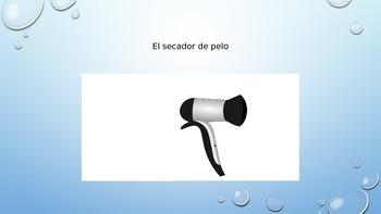 Avancemos 2 - Unidad 2 Lección 2 Vocabulary PowerPoint of Bathroom Items