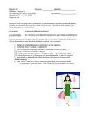 Avancemos 2 - Unidad 3 Leccion 1 - Role Play with Grading Sheet