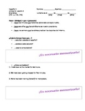 Avancemos 2 - Unidad 3 Leccion 2 - Hace Que Notes Sheet for PowerPoint