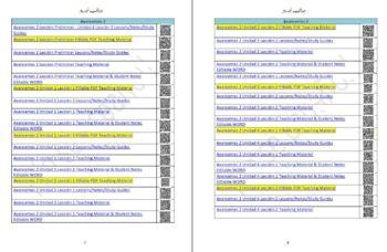 Avancemos 2 Unidad 3 Lección 2 Teaching Material & Student Notes Editable WORD
