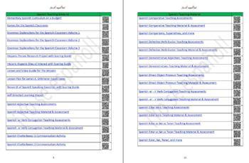Avancemos 2 Unidad 4 Lección 2 Teaching Material & Student Notes Editable WORD