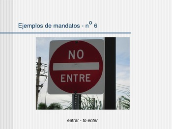 Avancemos 2 - Unidad 5 Leccion 1 - Formal Commands - Mandatos Formales
