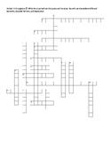 Avancemos 2 1.2 Vocab crossword part 2