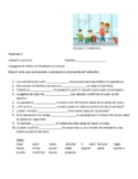 Avancemos 2 Unit 1 Lesson 1  Preguntas para Compañeros & Verb Fill-in  exercise