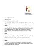Avancemos 2 Unit 1 Lesson 2  Arrival at Costa Rica - Text
