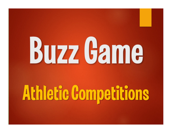 Avancemos 2 Unit 2 Lesson 1 Buzz Game