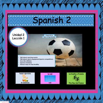 Avancemos 2: Unit 2, Lesson 1 PowerPoint Presentation