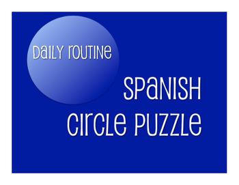 Avancemos 2 Unit 2 Lesson 2 Circle Puzzle