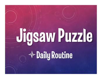Avancemos 2 Unit 2 Lesson 2 Jigsaw Puzzle