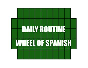 Avancemos 2 Unit 2 Lesson 2 Wheel of Spanish