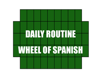 Avancemos 2 Unit 2 Lesson 2 Wheel of Spanish