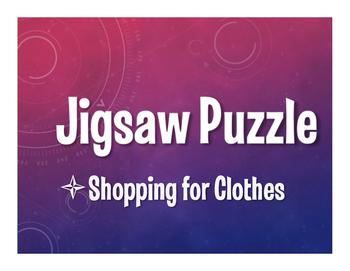 Avancemos 2 Unit 3 Lesson 1 Jigsaw Puzzle