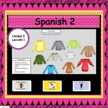 Avancemos 2: Unit 3, Lesson 1 PowerPoint Presentation