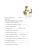 Avancemos 2 Unit 3 Lesson 1 Preguntas pa' Compañeros & Voc