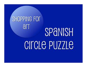 Avancemos 2 Unit 3 Lesson 2 Circle Puzzle