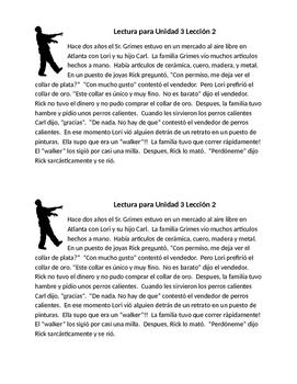 Avancemos 2 Unit 3 Lesson 2 Lectura