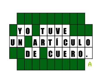 Avancemos 2 Unit 3 Lesson 2 Wheel of Spanish