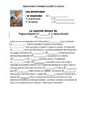 Avancemos 2 Unit 4 Lesson 1 Lectura - Legend of Popocatepetl and Itzaccihuatl