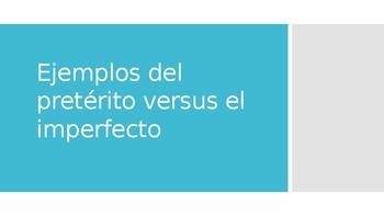 Avancemos 2 Unit 4 Lesson 1 Preterite vs. Imperfect