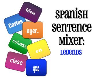 Avancemos 2 Unit 4 Lesson 1 Sentence Mixer