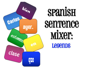 Avancemos 2 Unit 4 Lesson 1 Sentence Mixer