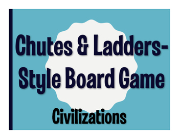 Avancemos 2 Unit 4 Lesson 2 Chutes and Ladders-Style Game