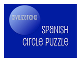 Avancemos 2 Unit 4 Lesson 2 Circle Puzzle