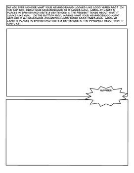 Avancemos 2 Unit 4 Lesson 2 Comic Strip