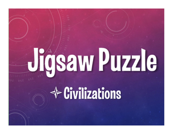 Avancemos 2 Unit 4 Lesson 2 Jigsaw Puzzle