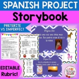 Spanish Preterite vs Imperfect Storybook Project | Pretérito Imperfecto Proyecto