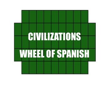 Avancemos 2 Unit 4 Lesson 2 Wheel of Spanish