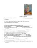 Avancemos 2 Unit 4 lesson 1 Vocabulary Fill-in