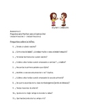 Avancemos 2 Unit 4 thru Unit 6 Lesson 2 Oral Practice or E