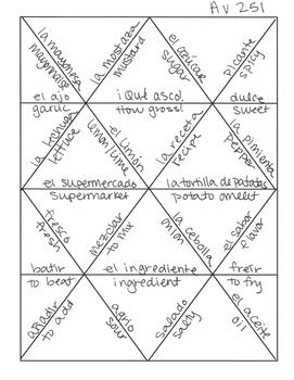 Avancemos 2 Unit 5 Lesson 1 Jigsaw Puzzle