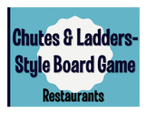 Avancemos 2 Unit 5 Lesson 2 Chutes and Ladders-Style Game