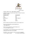 Avancemos 2 Unit 5 lesson 2 Affirmative and Negative words Practice