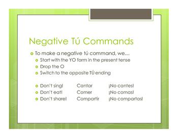 Avancemos 2 Unit 6 Lesson 1 Notes