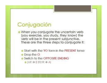 Avancemos 2 Unit 6 Lesson 2 Notes