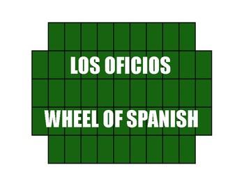 Avancemos 2 Unit 8 Lesson 2 Wheel of Spanish