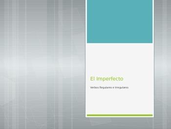 Avancemos 3.1.2 El Imperfecto (Imperfect)