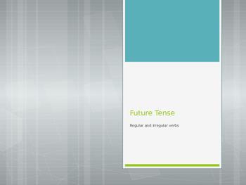 Avancemos 3.3.1 Future Tense