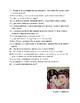 Avancemos 3  Unit 5 Lesson 1  Oral Exam or Assessment