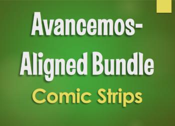 Avancemos 3 Bundle: Comic Strips