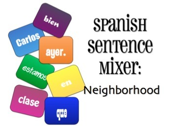 Avancemos 3 Bundle: Sentence Mixers